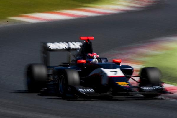 2016 GP3 Series Test 2. Circuit de Catalunya, Barcelona, Spain. Thursday 20 April 2017. Steijn Schothorst (NED, Arden International)  Photo: Zak Mauger/GP3 Series Media Service. ref: Digital Image _56I5595