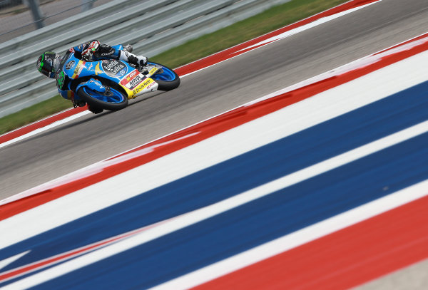 2017 Moto3 Championship - Round 3 Circuit of the Americas, Austin, Texas, USA Friday 21 April 2017 Enea Bastianini, Estrella Galicia 0,0 World Copyright: Gold and Goose Photography/LAT Images ref: Digital Image Moto3-500-1507