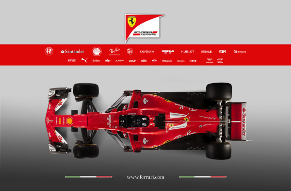 Ferrari SF70H Launch Images. Maranello, Italy. Friday, 24 February, 2017. Photo: Copyright Free Ferrari. Editorial use only. Ref: 170010_SF70H