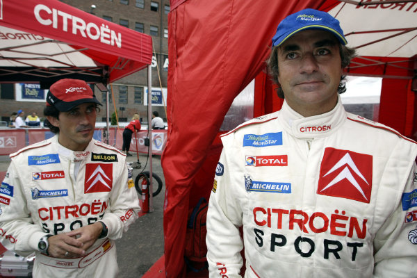 2003 FIA World Rally Champs. Round nine, Neste Rally Finland. Rally