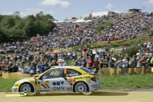FIA World Rally Championship 2007Round 10Rally Deutschland, Germany.Trier, Germany.16th - 19th August 2007Francois Duval, Citroen, action.Worldwide Copyright: McKlein/LAT