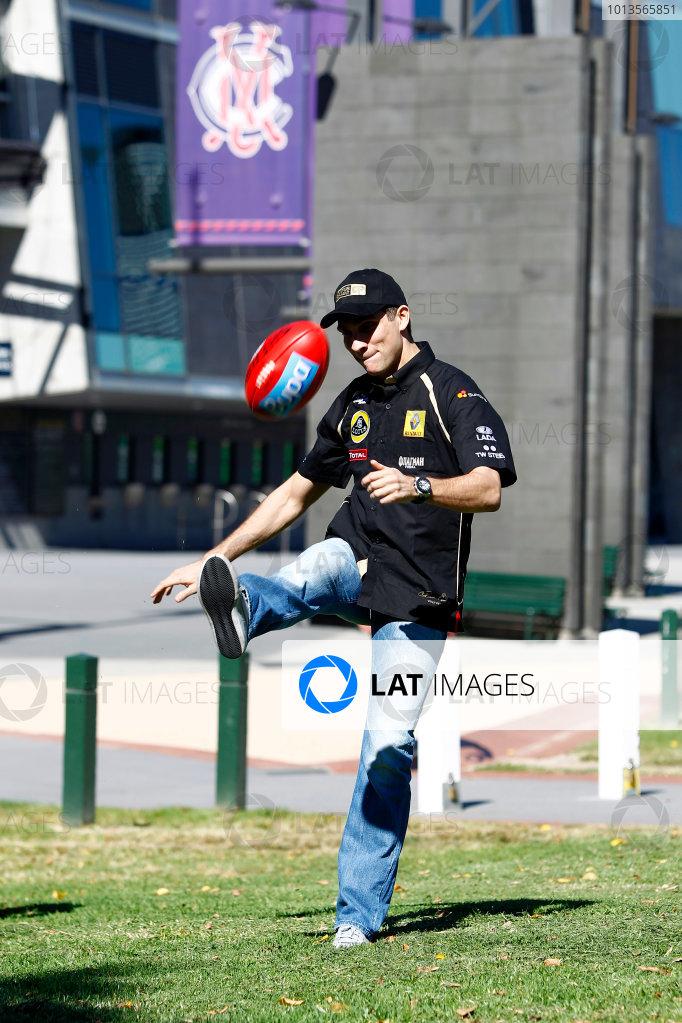 Albert Park, Melbourne, Australia23rd March 2011.Vitaly Petrov, Lotus Renault GP R31.World Copyright: Andrew Ferraro/LAT Photographicref: Digital Image _Q0C6457