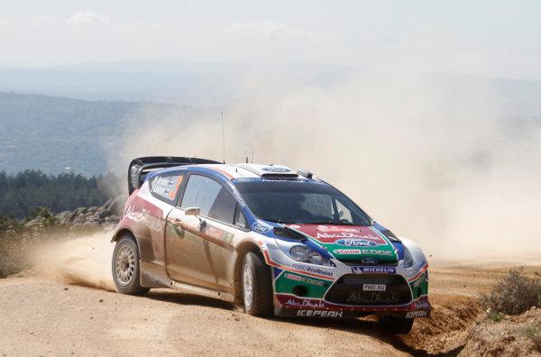 Round 05-Rally Italia Sardegna. 05th-08th May 2011.Mikko Hirvonen, Ford WRC, Action.Worldwide Copyright: McKlein/LAT