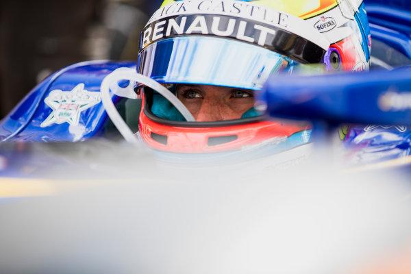 2017 FIA Formula 2 Round 6. Silverstone, Northamptonshire, UK. Friday 14 July 2017. Oliver Rowland (GBR, DAMS).  Photo: Zak Mauger/FIA Formula 2. ref: Digital Image _54I4879