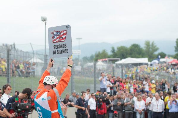 2017 MotoGP Championship - Round 6 Mugello, Italy Sunday 4 June 2017 Nicky Hayden rememberance World Copyright: Gold & Goose Photography/LAT Images ref: Digital Image 674921