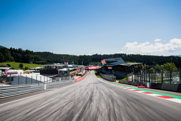 2017 FIA Formula 2 Round 5. Red Bull Ring, Spielberg, Austria. Thursday 6 July 2017. A view of the track. Photo: Zak Mauger/FIA Formula 2. ref: Digital Image _56I9996