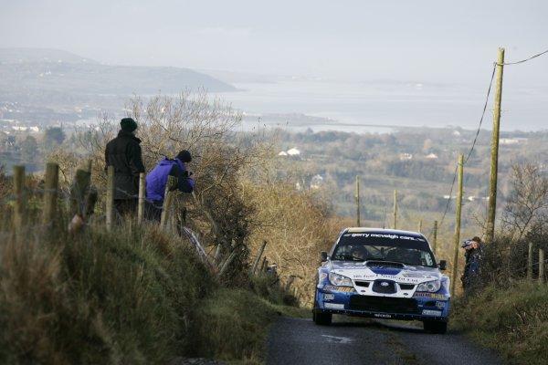 2007 World Rally ChampionshipRally Ireland 15th-18th November 2007,Kris Meeke, Subaru, Action World Copyright: McKlein/LAT
