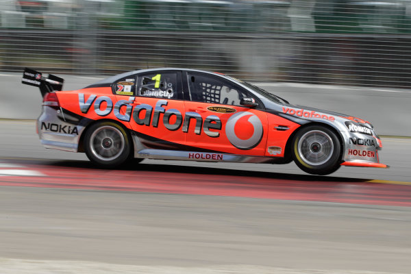 Round 3 -  Clipsal 500Adelaide Street Circuit, Adelaide, South Australia. 14th March 2010.Car 1,Jamie Whincup,Commodore VE,Holden,T8,TeamVodafone,Triple Eight Race Engineering,Triple Eight RacingWorld Copyright: Mark Horsburgh/LAT Photographic.ref: Digital Image 1-Whincup-EV03-10-3305 jpg