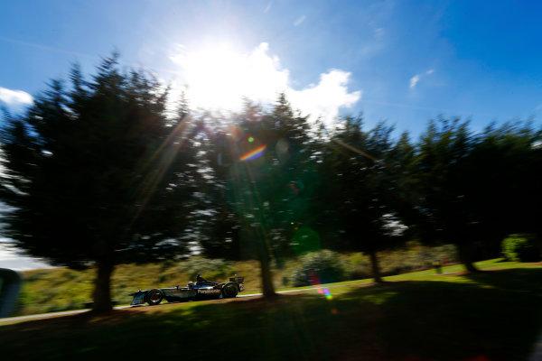 Jaguar Racing Official Formula E Launch Jaguar Heritage Collections Centre, Gaydon, UK Thursday 8 September 2016 Ho-Pin Tung drives the new Jaguar Racing Formula E car. World Copyright: Andrew Ferraro/LAT Photographic ref: Digital Image _14P5032