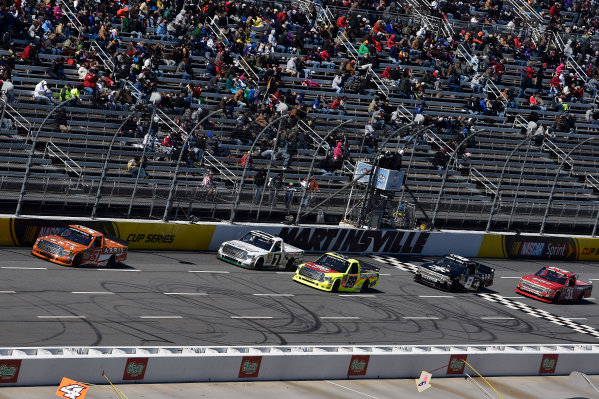 27-28 March, 2015, Martinsville, Virginia USA  Daniel Suarez, Matt Crafton, Gray Gaulding, John Hunter Nemechek, James Buescher ?2015 Scott R LePage  LAT Photo USA