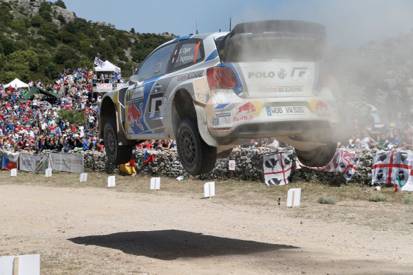 2014 World Rally Championship Rally Italy Sardinia 5th - 8th June 2014 Sebastien Ogier, VW, Action Worldwide Copyright: McKlein/LAT