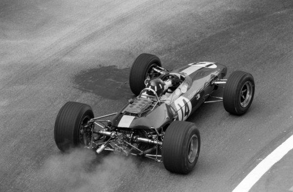 Graham Hill, Lotus 33 BRM.