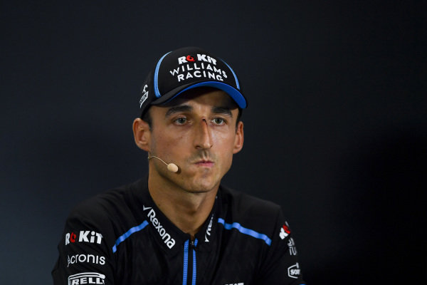 Robert Kubica, Williams Racing in the Press Conference