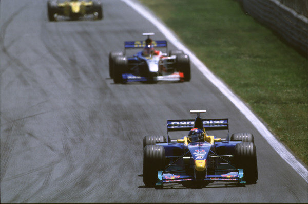 1999 Canadian Grand Prix.Montreal, Quebec, Canada.11-13 June 1999.Pedro Diniz (Sauber C18 Petronas Ferrari).Ref-99 CAN 16.World Copyright - LAT Photographic
