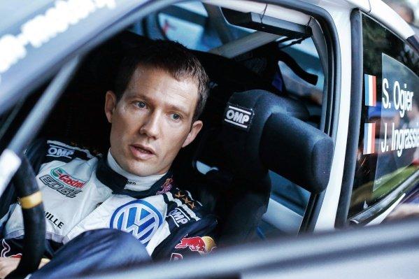 Sebastien Ogier (FRA) / Julien Ingrassia (FRA), Volkswagen Motorsport Polo R WRC at FIA World Rally Championship, Rd11, RAAC Rally de Espana, Preparations and Shakedown, Costa Daurada, Catalunya, Spain, 13 October 2016.