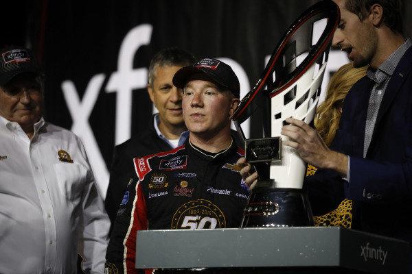 #2: Tyler Reddick, Richard Childress Racing, Chevrolet Camaro TAME the BEAST, Champion, podium