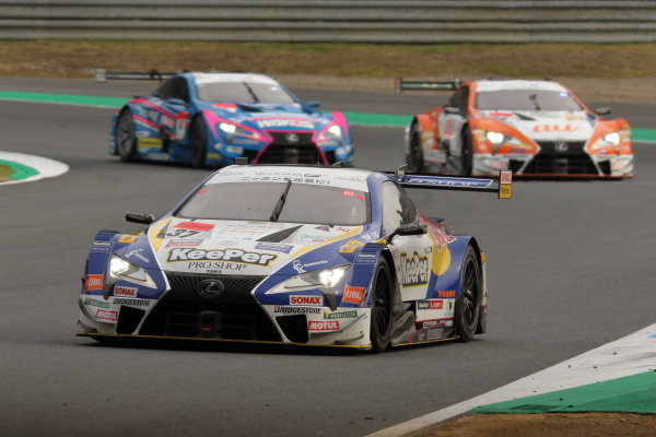 GT500 Winner Ryo Hirakawa & Nick Cassidy, Lexus Team KeePer TOM'S LC500
