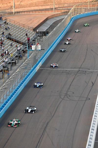 Kyle Kaiser, Juncos Racing Chevrolet, Graham Rahal, Rahal Letterman Lanigan Racing Honda, Takuma Sato, Rahal Letterman Lanigan Racing Honda