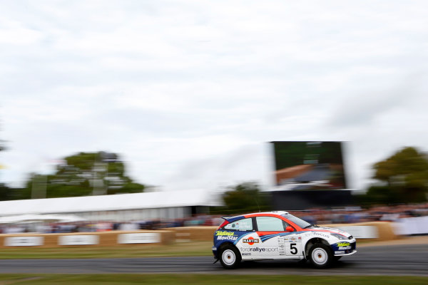 2015 Goodwood Festival of Speed Goodwood Estate, West Sussex, England. 25th - 28th June 2015. Steve Rockingham, Ford Focus WRC. World Copyright: Alastair Staley/LAT Photographic ref: Digital Image_R6T0920
