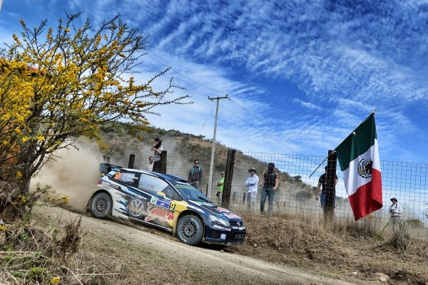 Andreas Mikkelsen (NOR) / Ola Floene (NOR) Volkswagen Polo R WRC at World Rally Championship, Rd3, Rally Mexico, Preparations and Shakedown, Leon, Mexico, 5 March 2015.