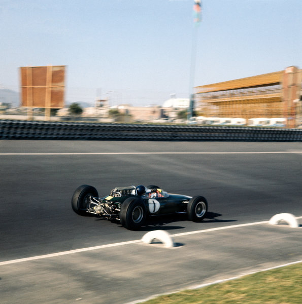 Mexico City, Mexico. 25th October 1964. Rd 10.