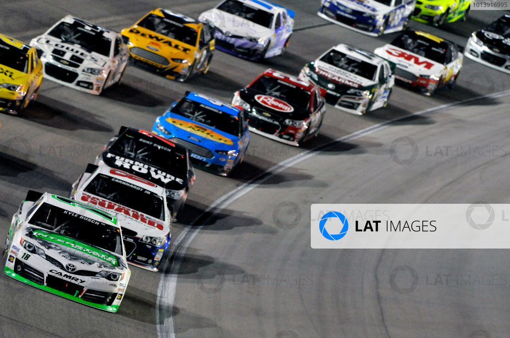 11-13 April, 2013, Fort Worth, Texas USA Kyle Busch, Interstate Batteries Toyota Camry ©2013, Nigel Kinrade LAT Photo USA