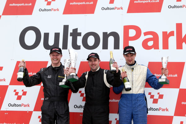 2013 Volkswagen Cup, Oulton Park, 1st April 2013, Depper, Mason and Cartwright World Copyright: Jakob Ebrey/LAT Photographic