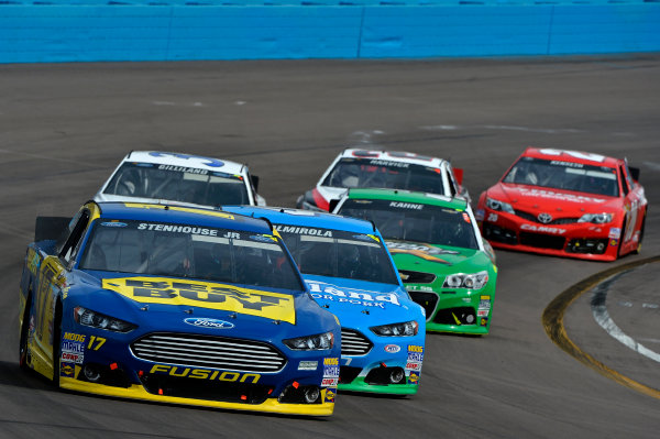 March 1-3, 2013 Avondale, Arizona USA Ricky Stenhouse Jr pack.(c) 2013, Brian Czobat LAT Photo USA .