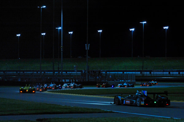 6-7 June, 2014, Kansas City, Kansas USA Racing through the infield. ?2014, F. Peirce Williams LAT Photo USA