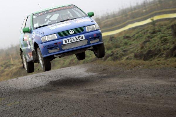 2006 British Rally Championship.Wales Rally GB. 1st-3rd December 2006.Fin McCaul.World Copyright: Ebrey/LAT Photographic.