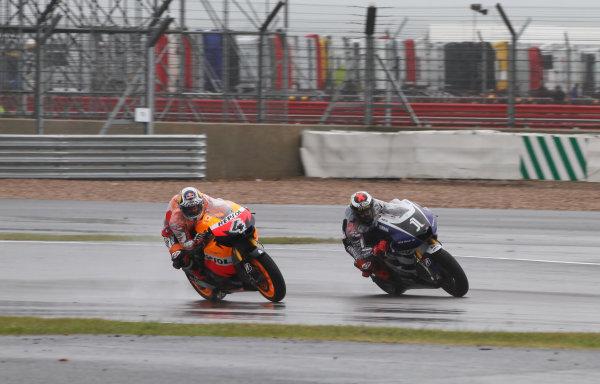 British Grand Prix. Silverstone, England. 10th-12th June 2011. Andrea Dovizioso, HondaWorld Copyright: Kevin Wood/LAT Photographic. ref: Digital Image