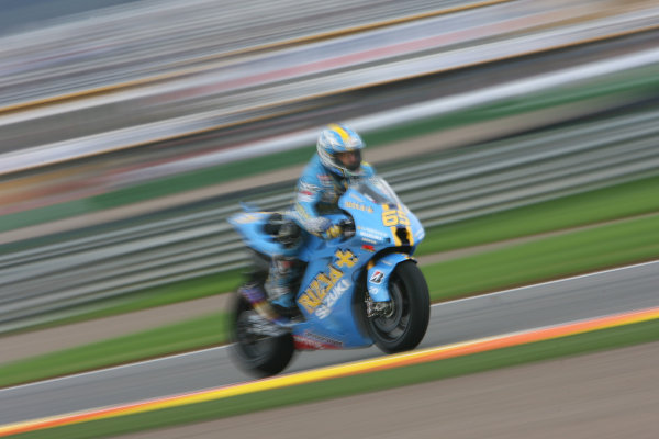Ricardo Tormo Circuit, Valencia, Spain.24th - 26th October 2008.Loris Capirossi Rizla Suzuki Team.World Copyright: Martin Heath / LAT Photographicref: Digital Image BPI_Moto 64o8