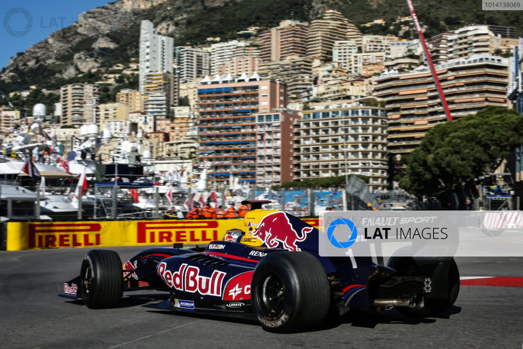 MONACO (MC) MAY 22-25 2014 - Grand Prix de Monaco 2014. Carlos Sainz jr. #1 Dams. © 2014 Sebastiaan Rozendaal / Dutch Photo Agency / LAT Photographic
