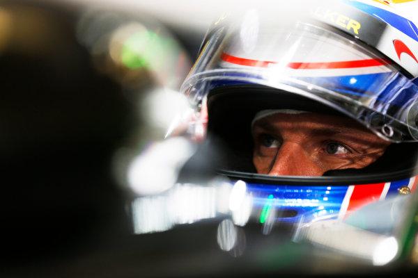 Shanghai International Circuit, Shanghai, China. Saturday 19 April 2014. Jenson Button, McLaren. World Copyright: Steven Tee/LAT Photographic. ref: Digital Image _L0U1662