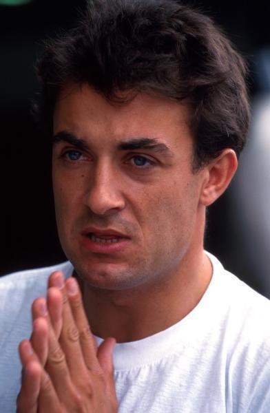 Jean Alesi (FRA) Ferrari finished seventh. Formula One World Championship, German Grand Prix, Hockenheim, Germany, 25 July 1993. Catalogue Ref.: 10-068 Sutton Motorsport Images Catalogue