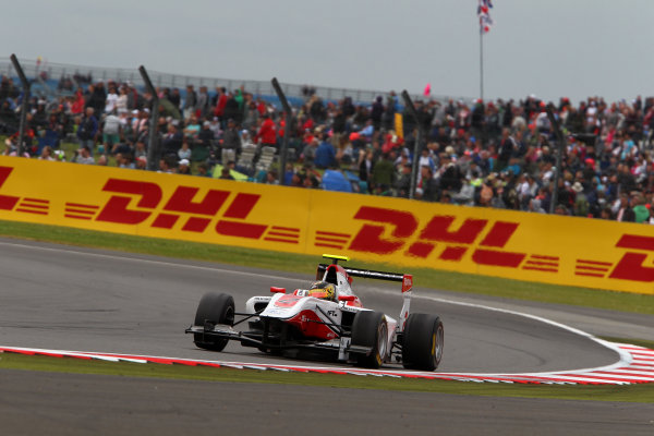 2014 GP3 Series Round 3. Silverstone International Circuit, Silverstone, Northamptonshire, England Sunday 6 July 2014. Marvin Kirchhofer (GER, ART Grand Prix)  Photo: Jacob Ebrey/GP3 Series Media Service. ref: Digital Image EL0G9028