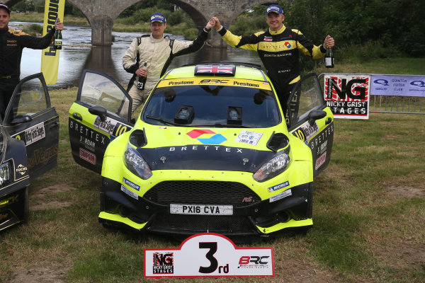 2017 British Rally Championship, Nicky Grist Stages, 8th-9th Juy 2017, Rhys Yates / Alex Lee Ford Fiesta R5 World copyright. JEP/LAT Images