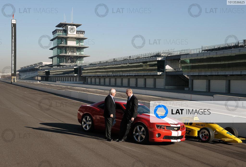 2012 IndyCar Chevrolet Engine Announcement