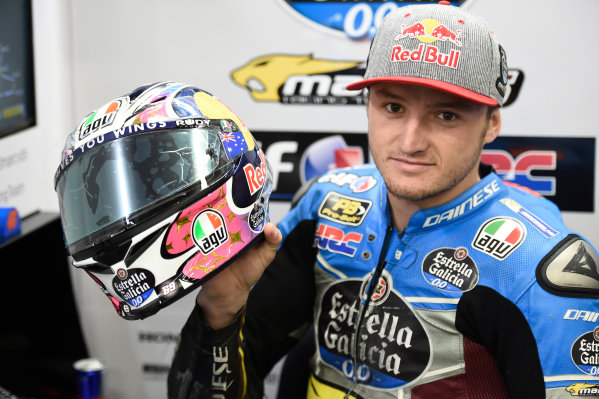 2017 MotoGP Championship - Round 5 Le Mans, France Friday 19 May 2017 Jack Miller, Estrella Galicia 0,0 Marc VDS with Nicky Hayden number on his helmet World Copyright: Gold & Goose Photography/LAT Images ref: Digital Image 670563