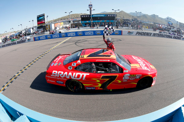 2017 NASCAR Xfinity Series DC Solar 200 Phoenix International Raceway, Avondale, AZ USA Saturday 18 March 2017 Justin Allgaier World Copyright: Matthew T. Thacker/LAT Images ref: Digital Image 17PHX1mt1345