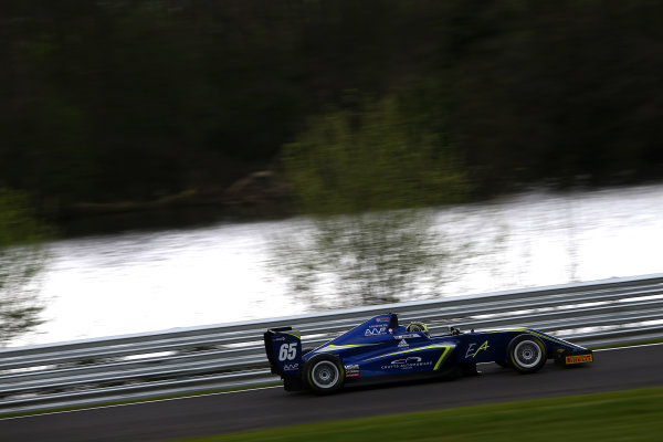 2017 BRDC British F3 Championship, Oulton Park, Cheshire. 15th - 187th April 2017. Enaam Ahmed (GBR) Carlin BRDC F3. World Copyright: JEP/LAT Images.
