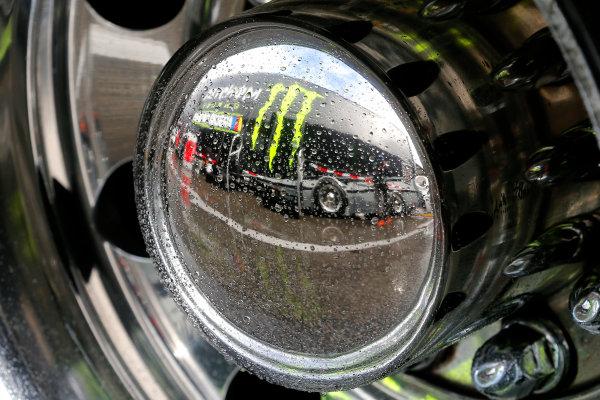 2017 NASCAR Monster Energy Cup - Can-Am Duels Daytona International Speedway, Daytona Beach, FL USA Thursday 23 February 2017 Monster Energy signage World Copyright: Russell LaBounty/LAT Images ref: Digital Image 17DAY2rl_01136