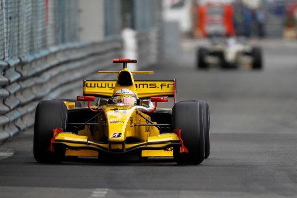 Monte Carlo, Monaco. 15th May 2010. Saturday Race.Jerome D'Ambrosio (BEL, Dams). Action. Photo: Andrew Ferraro/GP2 Media Service.Ref: _Q0C7409 jpg