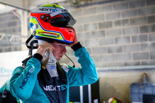 FIA Formula E Second Pre-Season Testing Event. Oliver Turvey, NextEV NIO, Spark-NEXTEV. Donington Park Racecourse, Derby, United Kingdom. Tuesday 6 September 2016. Photo: Adam Warner / LAT ref: Digital Image _L5R2802