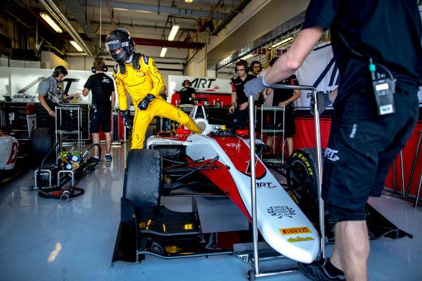 2016 GP3 Series Test 5. Yas Marina Circuit, Abu Dhabi, United Arab Emirates. Wednesday 30 November 2016. Jack Aitken (GBR, ART Grand Prix)  Photo: Zak Mauger/GP3 Series Media Service. ref: Digital Image _L0U3265