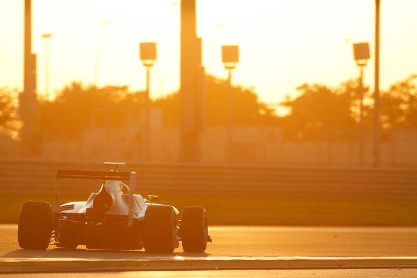 2014 GP3 Series Test 3.   Yas Marina Circuit, Abu Dhabi, United Arab Emirates. Saturday 29 November 2014. Kourosh Khani (IRI, Hilmer Motorsport)  Photo: Sam Bloxham/GP3 Series Media Service. ref: Digital Image _14P2970