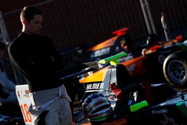 2014 GP3 Series. Round 8.   Sochi Autodrom, Sochi, Russia.  Saturday 11 October 2014. Nelson Mason (CAN, Hilmer Motorsport)  Photo: Sam Bloxham/GP3 Series Media Service. ref: Digital Image _G7C5908