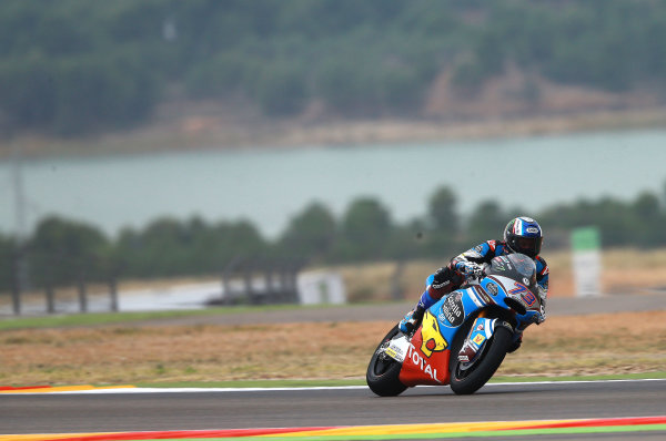 2017 Moto2 Championship - Round 14 Aragon, Spain. Friday 22 September 2017 Alex Marquez, Marc VDS World Copyright: Gold and Goose / LAT Images ref: Digital Image 693612