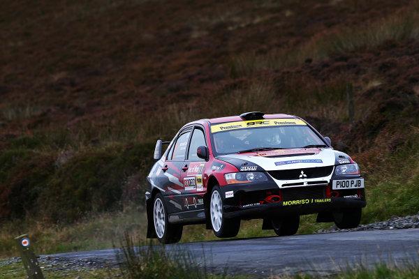 2017 Prestone MSA British Rally Championship, Rally Isle of Man. 14th - 16th September 2017. John Morrison / Peter Carstairs Mitsubishi Evo 9. World Copyright: JEP/LAT Images