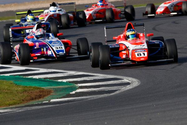 2017 MSA British F4 Championship, Silverstone, Northants, UK. 16th-17th September 2017 Oscar Piastri (AUS) TRS Arden British F4 World copyright. JEP/LAT Images